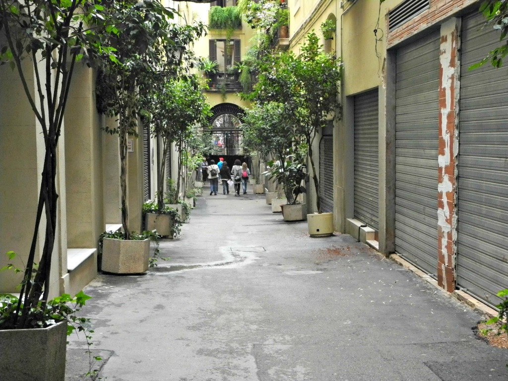 Entrada desde Sant Pere més Alt.