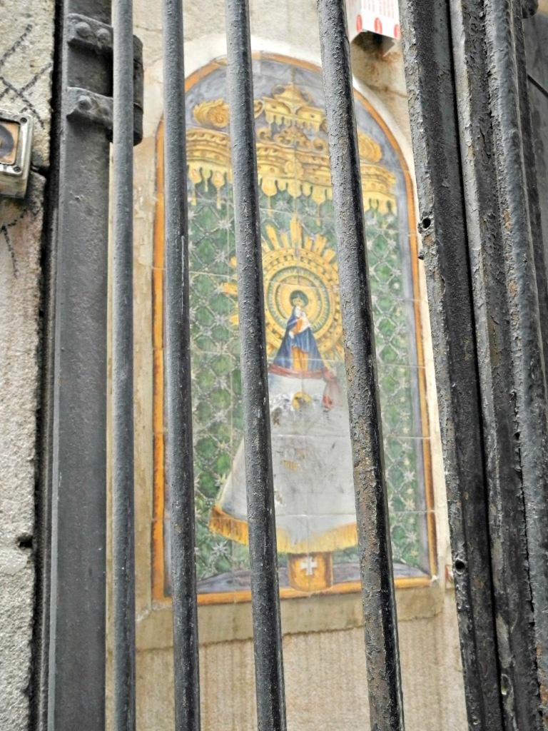 Nuestra Señora del Pilar. Calle del Paradís.