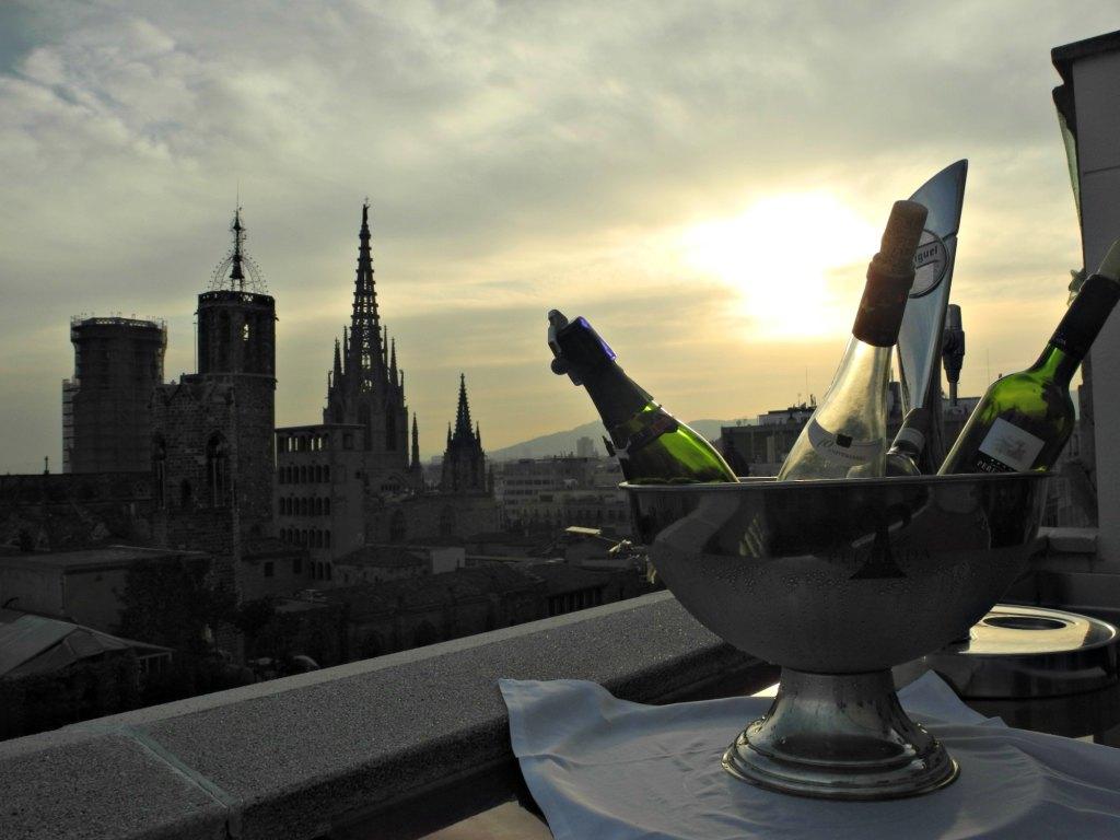 Vistas desde la terraza del Hotel H10 Montcada.