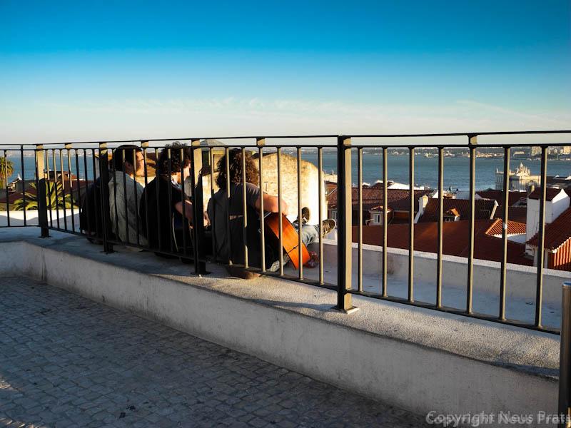 Explanada del Restaurante Zambezee (el mirador está abierto a todo el mundo).