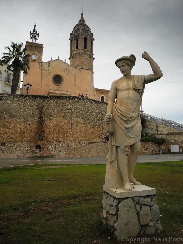Hermes al Passeig de la Ribera.