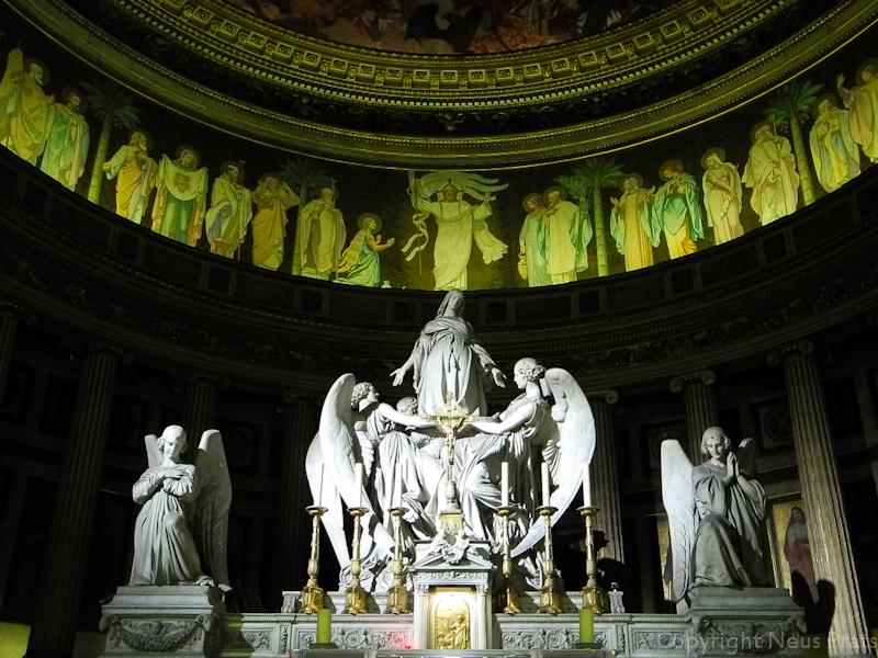 Asunción de María Magdalena a los cielos (1837). Charles Marochetti.