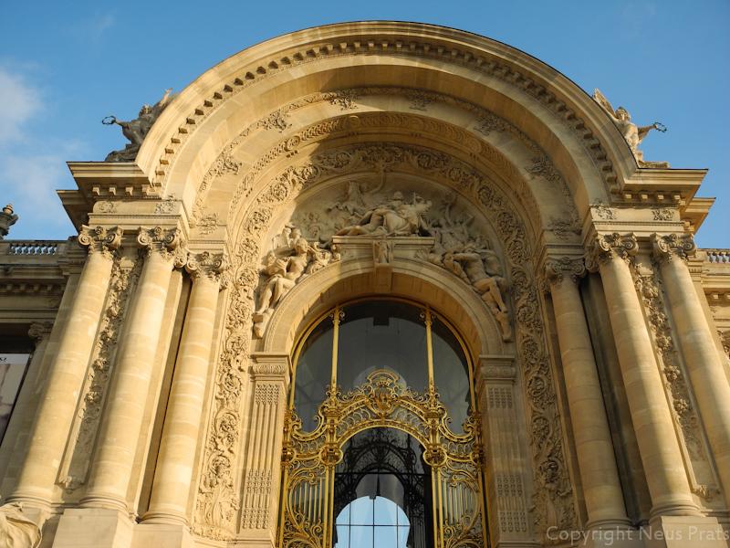 Entrada al Petit Palais