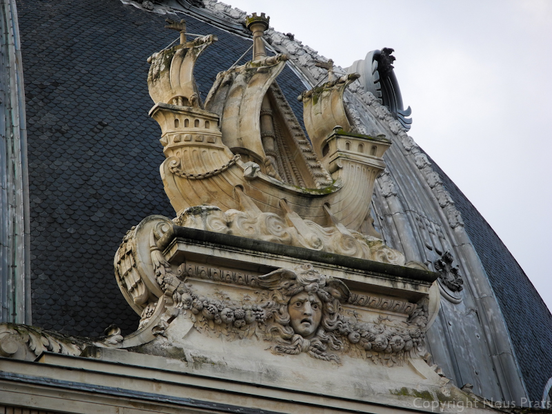 El lema de la ciudad de París y Hermes