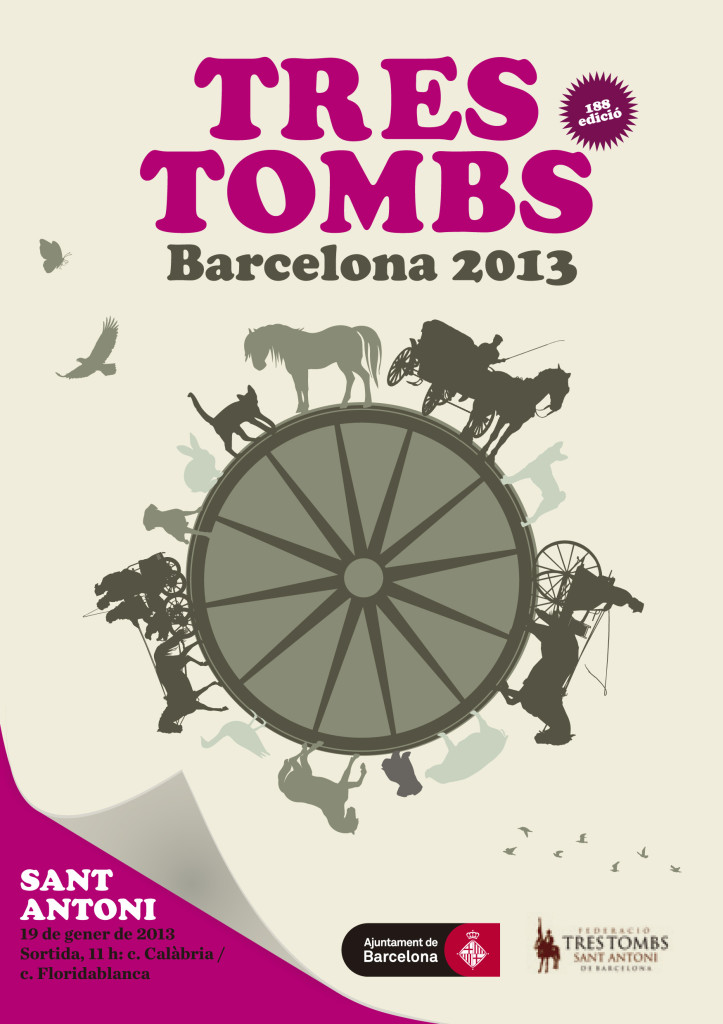 cartell tres tombs 2013