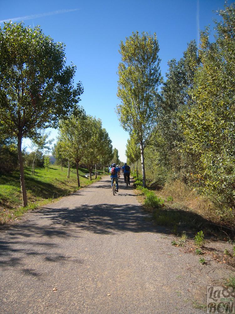 Camio de retorno al Prat de Llobregat