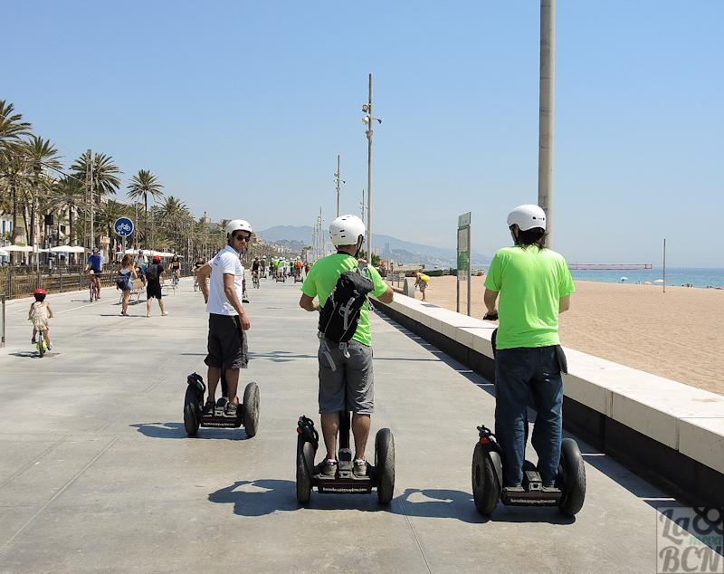 Paseo en Segway por las playas del litoral norte barcelonés.