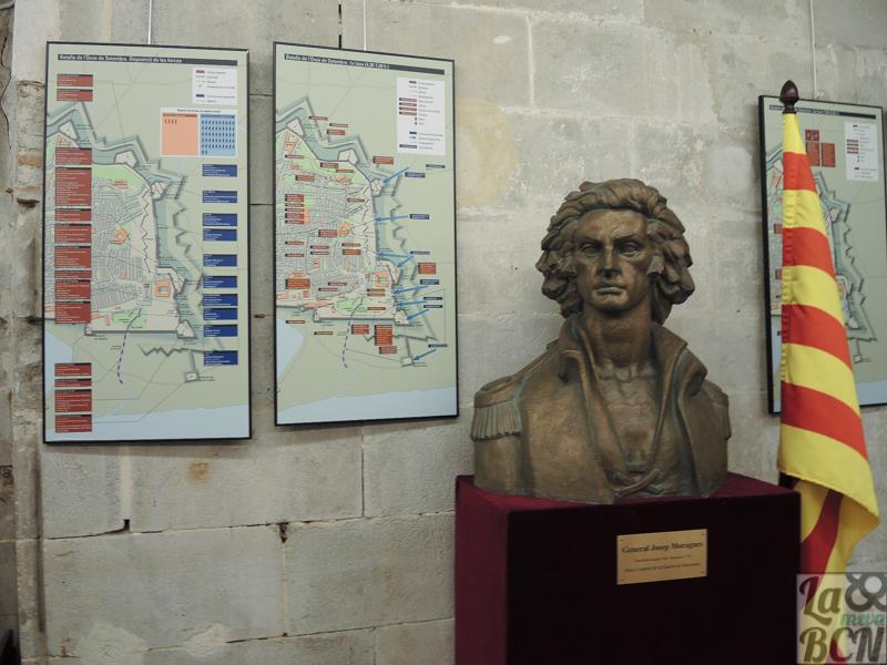 Busto del General Moragues de Rosa Martínez